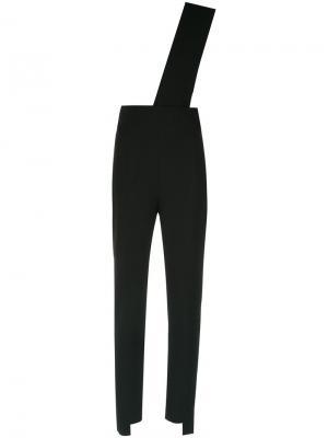 One shoulder jumpsuit Giuliana Romanno. Цвет: чёрный