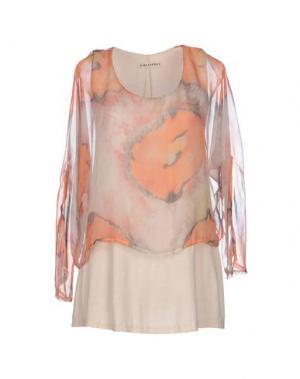 Блузка BLEIFREI. Цвет: оранжевый