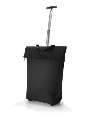 Сумка-тележка Trolley M black Reisenthel. Цвет: черный