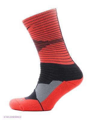 Носки NIKE HYPERELITE DISRUPTOR BASK. Цвет: черный, красный