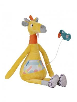 Ebulobo Музыкальная игрушка Жираф. Цвет: желтый