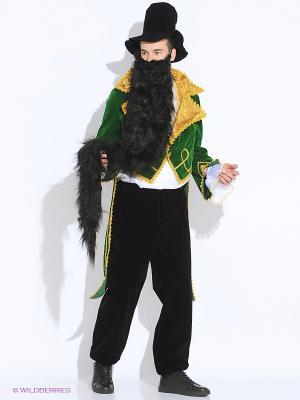 Карнавальный костюм Карабас Барабас (д/взр) Батик. Цвет: зеленый