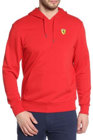 Толстовка Ferrari. Цвет: красный