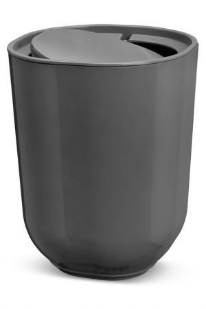 Корзина для мусора с крышкой UMBRA. Цвет: серый
