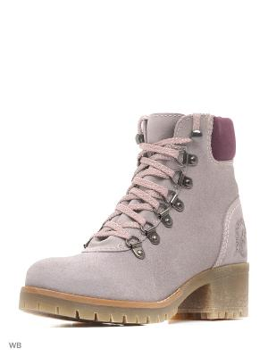 Ботинки S.OLIVER. Цвет: бежевый, фиолетовый