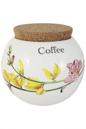 Банка для сыпучих продуктов Ceramiche Viva. Цвет: мультиколор