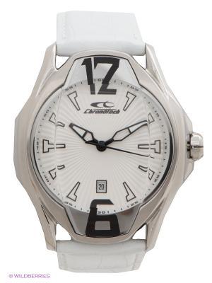Часы Chronotech. Цвет: белый