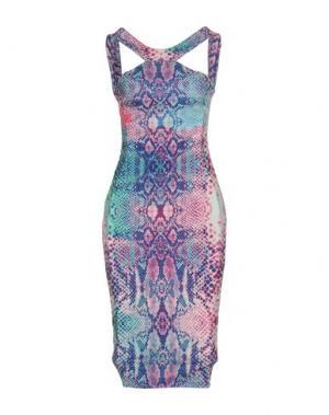 Платье до колена HALE BOB. Цвет: фиолетовый