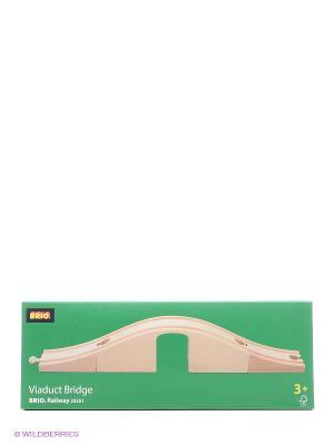 Железная дорога - виадук с аркой BRIO. Цвет: прозрачный