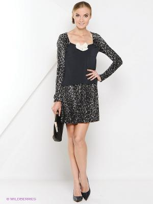 Платье Artwizard. Цвет: серый
