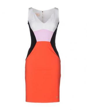Короткое платье VDP COLLECTION. Цвет: красный