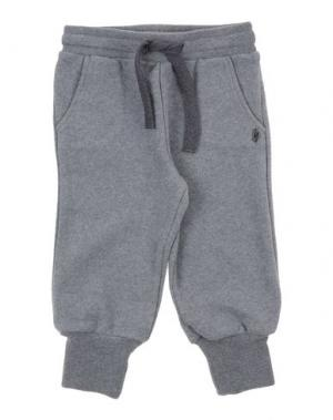 Повседневные брюки GRANT GARÇON BABY. Цвет: свинцово-серый
