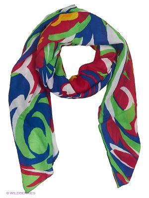 Парео текстильное Vittorio Richi. Цвет: синий, зеленый, красный