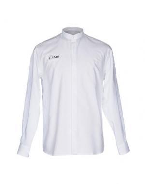 Pубашка CAMO. Цвет: черный