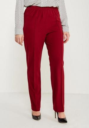 Брюки Darissa Fashion. Цвет: бордовый