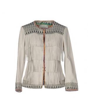 Пиджак BAZAR DELUXE. Цвет: светло-серый