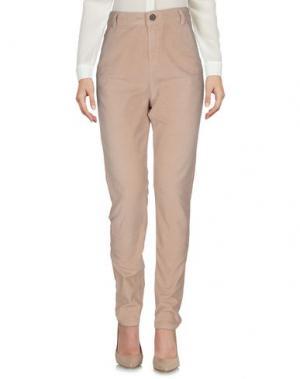 Повседневные брюки E-GÓ. Цвет: бежевый
