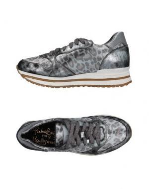 Низкие кеды и кроссовки PRIMABASE. Цвет: серый