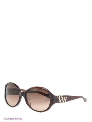 Солнцезащитные очки VW 758 06 Vivienne Westwood. Цвет: коричневый