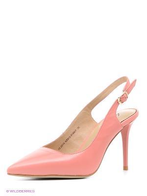 Босоножки Lisette. Цвет: розовый