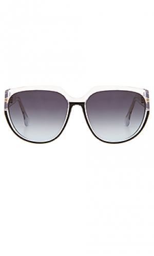 Солнцезащитные очки marlow Steven Alan. Цвет: черный