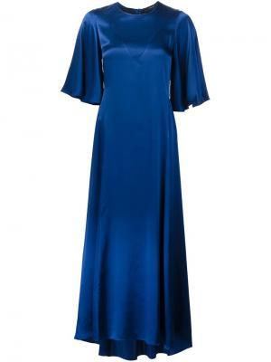 Платье свободного кроя Ellery. Цвет: синий