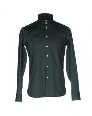 Pубашка DELLA CIANA. Цвет: зеленый