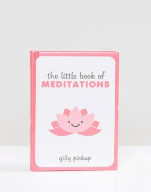 Books Книга Little Book of Meditations. Цвет: мульти