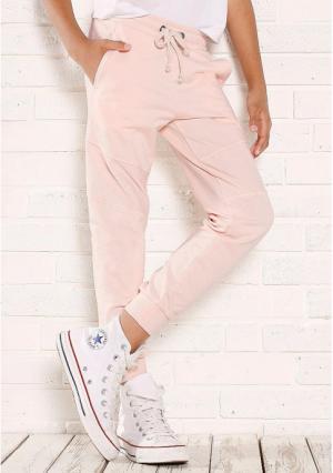 Брюки Arizona. Цвет: розовый, серый меланжевый, черный
