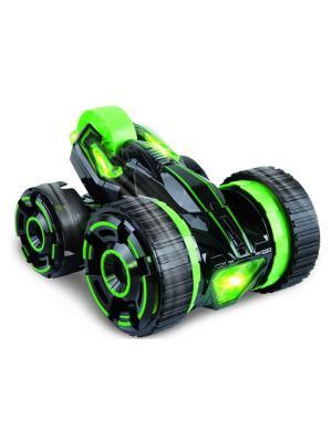 Машинка радиоуправляемая трюковая, 5 колес Blue Sea. Цвет: черный, зеленый
