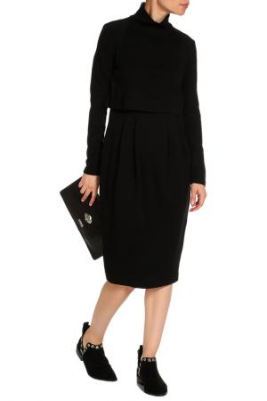 Платье SPORTMAX. Цвет: черный