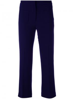 Cropped trousers LAutre Chose L'Autre. Цвет: синий