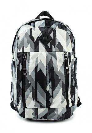 Рюкзак Nike. Цвет: черно-белый