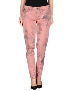 Повседневные брюки ANOTHER LABEL. Цвет: пастельно-розовый