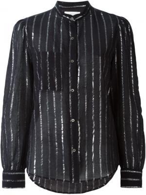 Рубашка Samson Isabel Marant Étoile. Цвет: чёрный