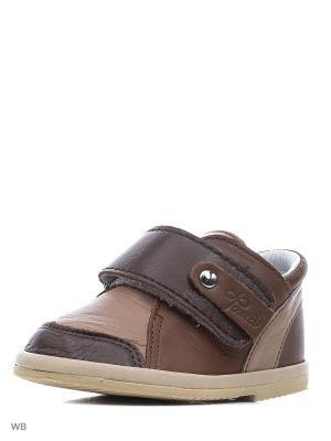 Ботинки ФОМА. Цвет: бежевый, коричневый