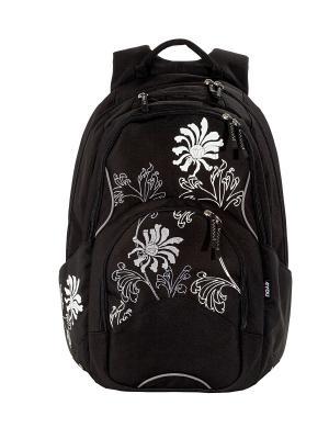 Рюкзак 4YOU FLOW ЧЕРНОЕ И БЕЛОЕ. Цвет: черный