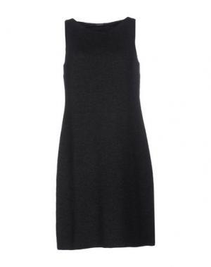 Короткое платье CHARLOTT. Цвет: стальной серый