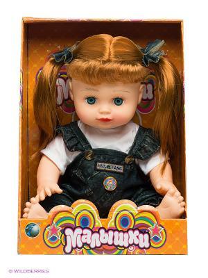 Кукла Малышка VELD-CO. Цвет: коричневый, синий