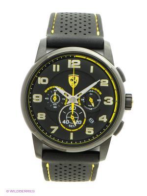 Часы SCUDERIA FERRARI. Цвет: черный, серебристый, желтый