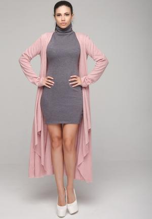 Кардиган Malaeva. Цвет: розовый