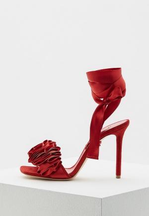 Босоножки Casadei. Цвет: красный