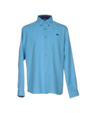 Pубашка INGRAM. Цвет: бирюзовый