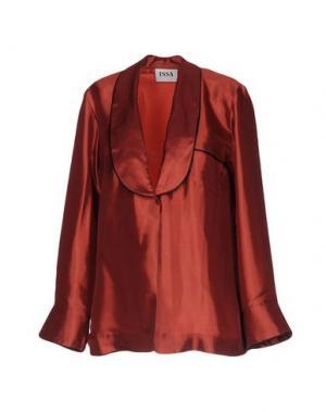 Пиджак ISSA. Цвет: красно-коричневый