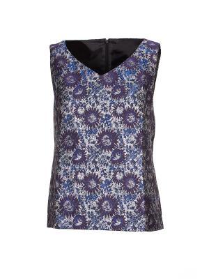 Блузка Nathalie Vleeschouwer. Цвет: синий