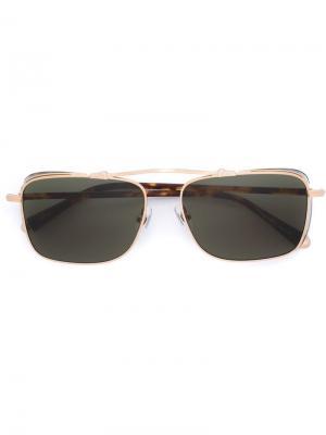 Солнцезащитные очки M3047 Matsuda. Цвет: телесный