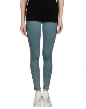 Джинсовые брюки MADE GOLD. Цвет: синий