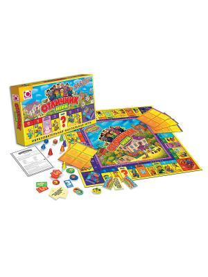 Настольная игра: Фан Гейм Отличник FunGame. Цвет: желтый, голубой, красный