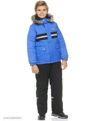 Куртка для мальчика Cherubino. Цвет: голубой
