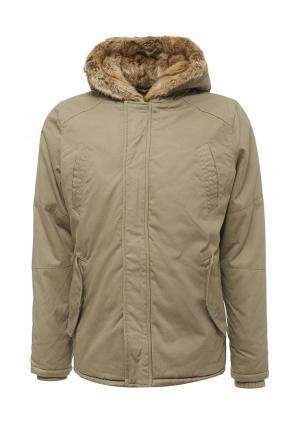 Куртка утепленная Paragoose. Цвет: бежевый